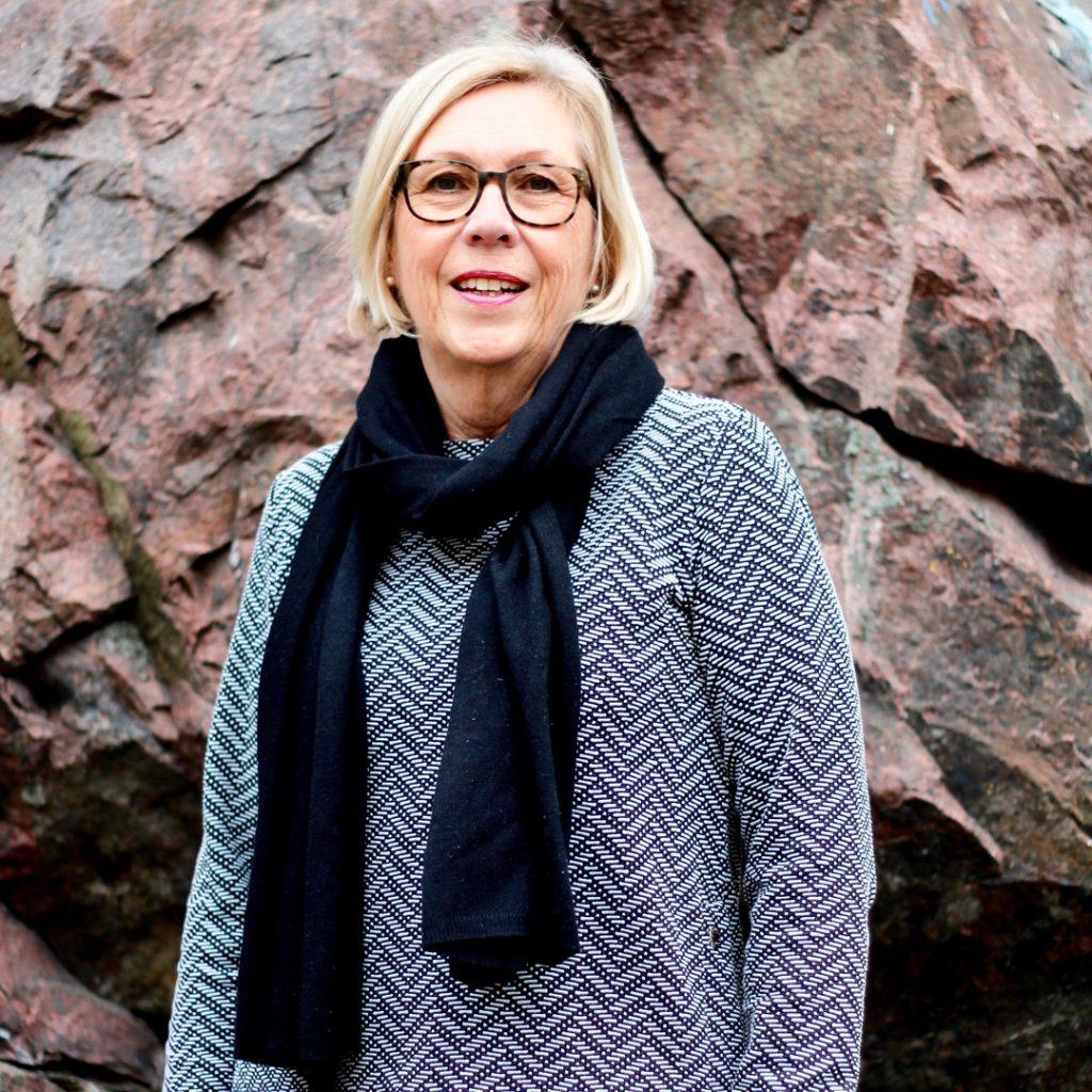 Lena, ekonomiansvarig på Attraktiva Oskarshamn